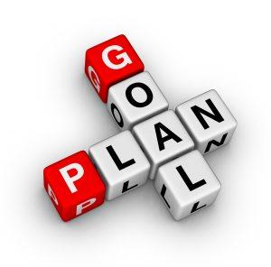 Goal Plan in blocks